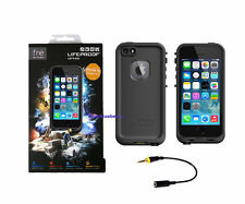 LifeProof Fre WaterProof Dust Proof Case Cover iPhone 5/5S - Black