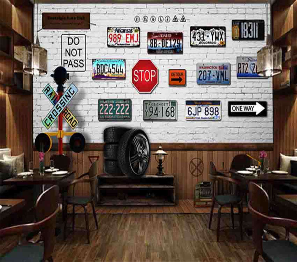 Good Walking Tires 3D Full Wall Mural Photo Wallpaper Printing Home Kids Decor
