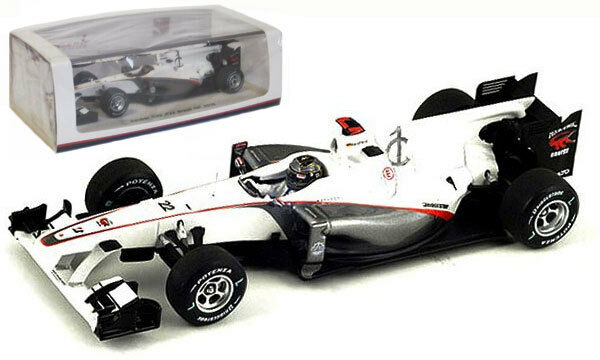 SPARK s3013 SAUBER C29   22 GP Brasile 2010 Versione Corsa-N Heidfeld scala