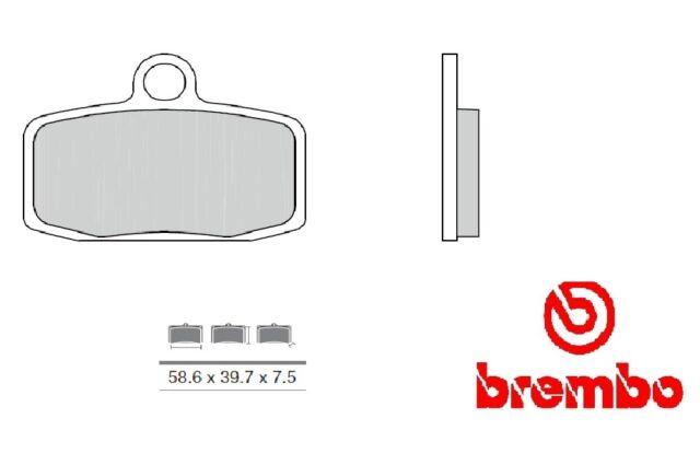 Confezione pastiglie Brembo 07GR20SA Sinterizzate