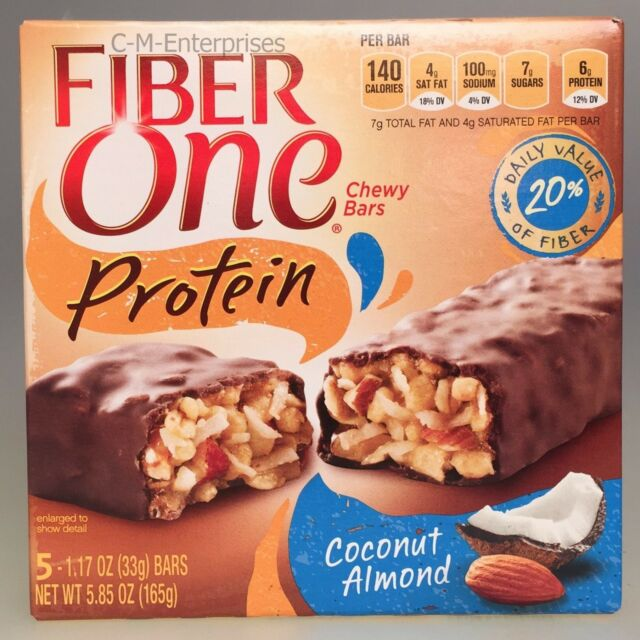 Fiber One Protein Coconut Almond Chewy Bars 5.85 oz Bar