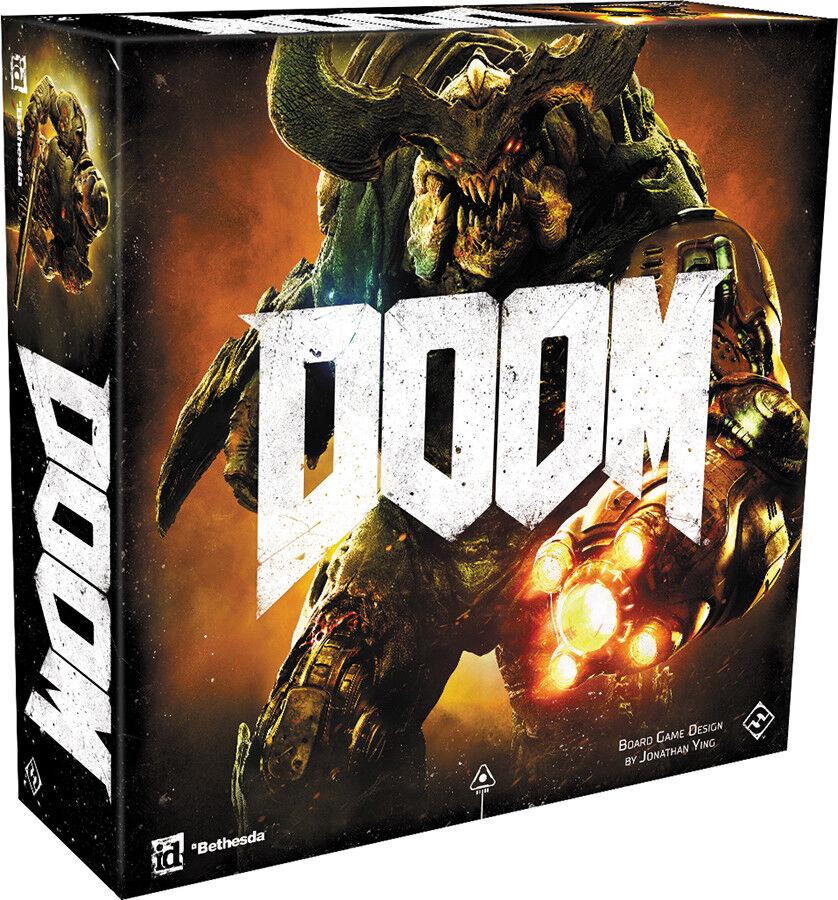 Doom brettspiel fabrik versiegelt neue fantasy flight games ffg