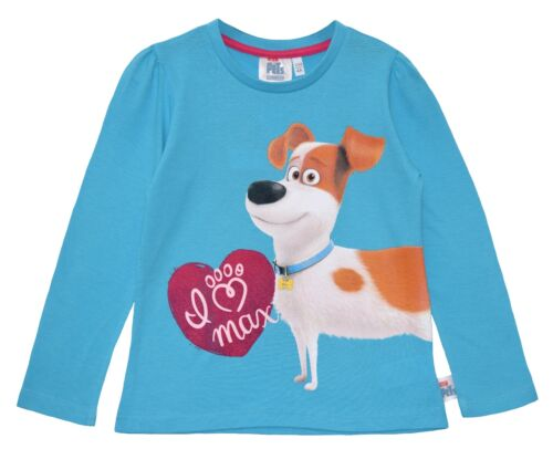 OFFICIAL SECRET LIFE OF PETS SHORT or LONG SLEEVE T SHIRT//TOP 2 3 4 5 6 7 8 YRS