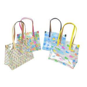 NWT-Dooney-Bourke-CLEAR-medium-Shopper-Tote-Pick-a-Design