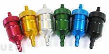 49CC 60CC 80CC MOTORIZED BICYCLE SCOOTER INLINE CNC ANODIZED FUEL FILTER GOLD