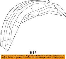 Jeep CHRYSLER OEM Grand Cherokee Quarter Panel-Wheelhouse Liner Right 57010710AL