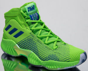 16cabb22d adidas Pro Bounce 2018 Andrew Wiggins Men s New Green Basketball ...