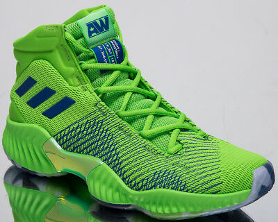 70ab30cb adidas Pro Bounce 2018 Andrew Wiggins Men's New Green Basketball ...