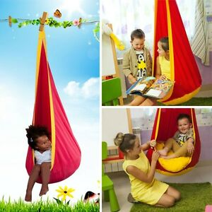 image is loading hammock pod kids swing children 039 s hammock  hammock pod kids swing   children u0027s hammock hanging chair  many      rh   ebay