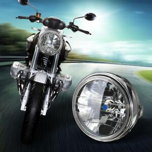 7-039-039-Universale-Moto-H4-Fanale-Faro-Anteriore-Headlight-Nero-Tondo-Testa-Lampada