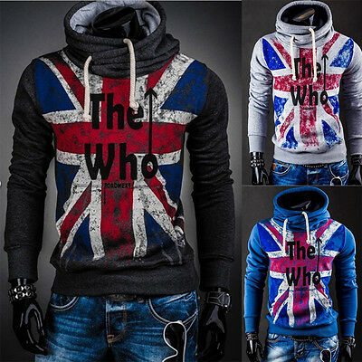 Felpa Maglia Uomo THE WHO Pullover Men Hoodie sweatshirt hd102 3 Color