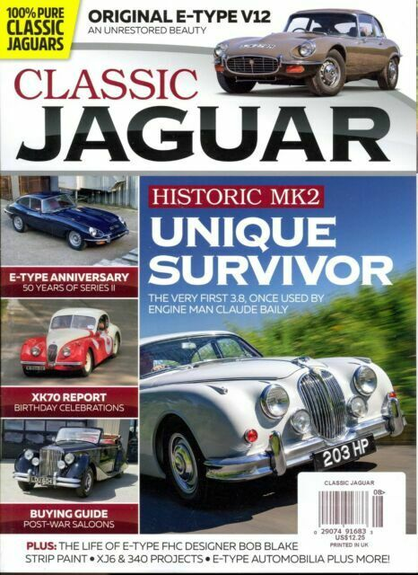 Classic Jaguar Magazine Uk February March 2019 For Sale Online Ebay