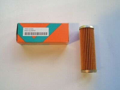 zt truck parts 2X Fuel Filter 1T021-43560 15231-43560 Fit for Kubota B1500 B1550 B1700 B1750 B20 B21 B2100 B4200 B5200 B6200 B7200 B8200 B9200 B6000 B6100 B5100 B7100 B7300 G3200 G4200 G5200 G6200