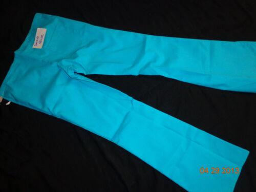 New Scrubeez Women/'s Drawstring Flare Pants Scrubs Medical Uniform Sz LG Tall