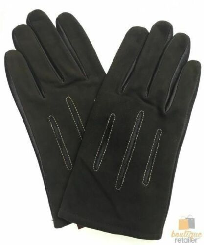 DENTS Sheepskin Leather Gloves with Acrylic Lining Men/'s Warm Winter ML1054 New