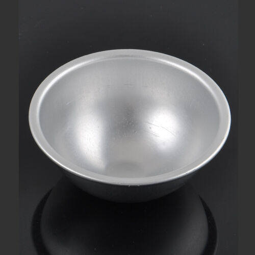 2Pcs Sell 3D Aluminum Ball Sphere Bath Bomb Cake Pan Tin Baking Pastry Mould NEW