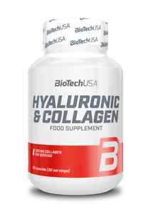 BioTechUSA Hyaluron /& Kollagen 30 Kapseln 63,09€//100g