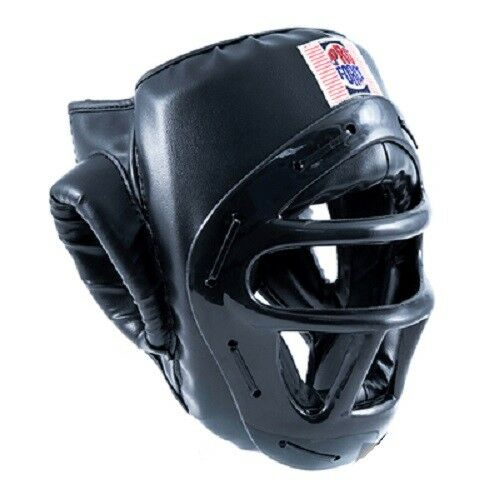 Proforce Headguard Headgear with  Face Cage Shield Karate Tae Kwon Do Sparring  hot sales