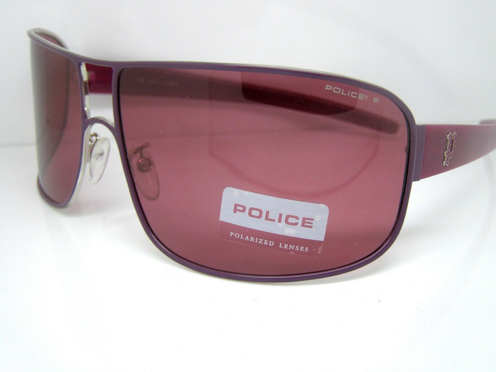 Police Police Police Stunning Cool Sunglasses S8005V SH9 lila Fashion Accessory New No Case | Erste Qualität