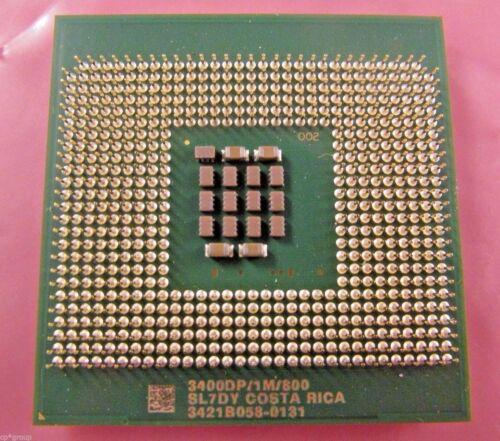 SL7DY  INTEL XEON 3400DP//1M//800 604  3.4 GHz CPU