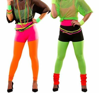 Ladies Colour Tights Fancy Dress Accessories