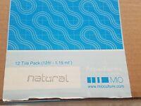 Mio Ripple Natural Geometric Wallpaper Paperform Tiles (box Of 19) (12 X 12)