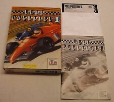 Pole Position II by Mindscape for Commodore 64