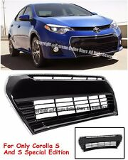 For 14-Up Toyota Corolla S / S Plus E170 Front Bumper Lower Grille Guard Kit