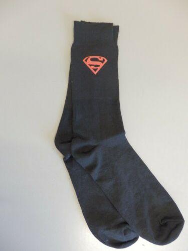 SUPERMAN Novelty Socks Birthday Celebration Milestone Anniversary Black Gift