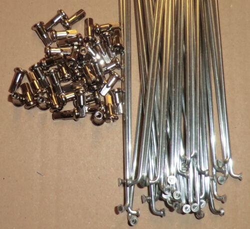 38 rayons ALPINA galvanisé 2,33 mm x 266mm avec raccords