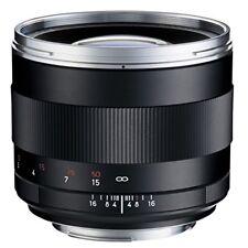 Carl ZEISS Planar T * 85mm F1.4 ZE (canon Ef) Lens Japan IMPORT