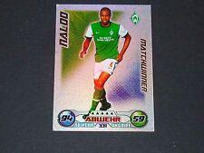 NALDO WERDER BREMEN TOPPS MATCH ATTAX PANINI FOOTBALL BUNDESLIGA 2009-2010
