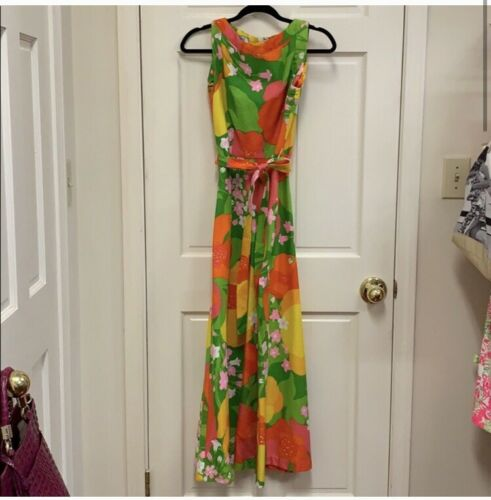 Vintage Malia Honolulu Dress Maxi