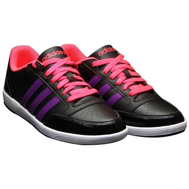 Adidas VLNeo Hoops LO W Schuhe Turnschuhe Turnschuhe trainers NEO schwarz NEU