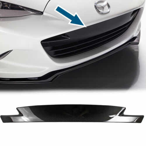 Dry Carbon For Mazda Miata MX-5 ND Front Bumper Air Dam Grille Cover Trim 2017