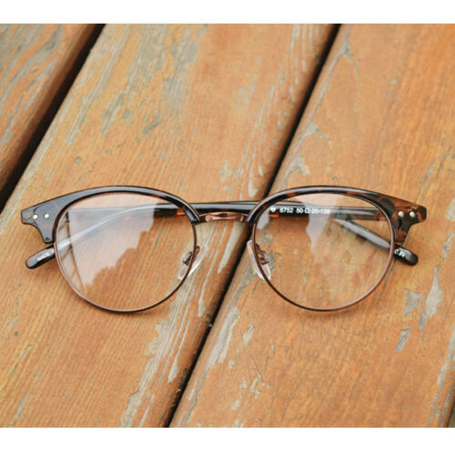 1920s Vintage oliver round eyeglasses retro 52R67 Leopar frames eyewear findhoon