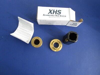 30-70-hp-Mercur-MI-Wheel-114-XHS-Xchangeable-propeller-Hub-System-13-spline-NOS