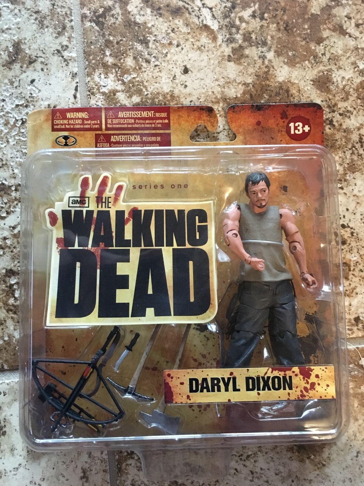 Mcfarlane original daryl walking dead action figure From 2011