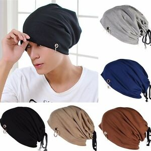 Men Women Warm Winter Knit Ski Beanie Skull Slouchy Oversize Ring ... a466e354cc7