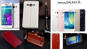 Flip-Silm-Tasche-Etui-Schutz-huelle-Klapp-Case-Cover-Samsung-GALAXY-A3-Folie-Tuch