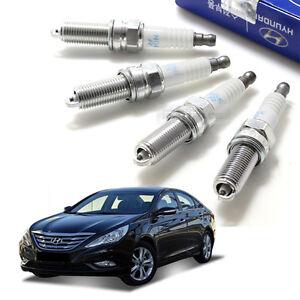 Hyundai Sonata Parts >> Oem Parts Engine Ignition Spark Plug 18847 08220 4p For Hyundai 11