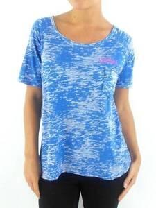 Original-O-039-Neill-tee-shirt-haut-Assal-blau-Col-Rond-Sacoche-poitrine-Neuf