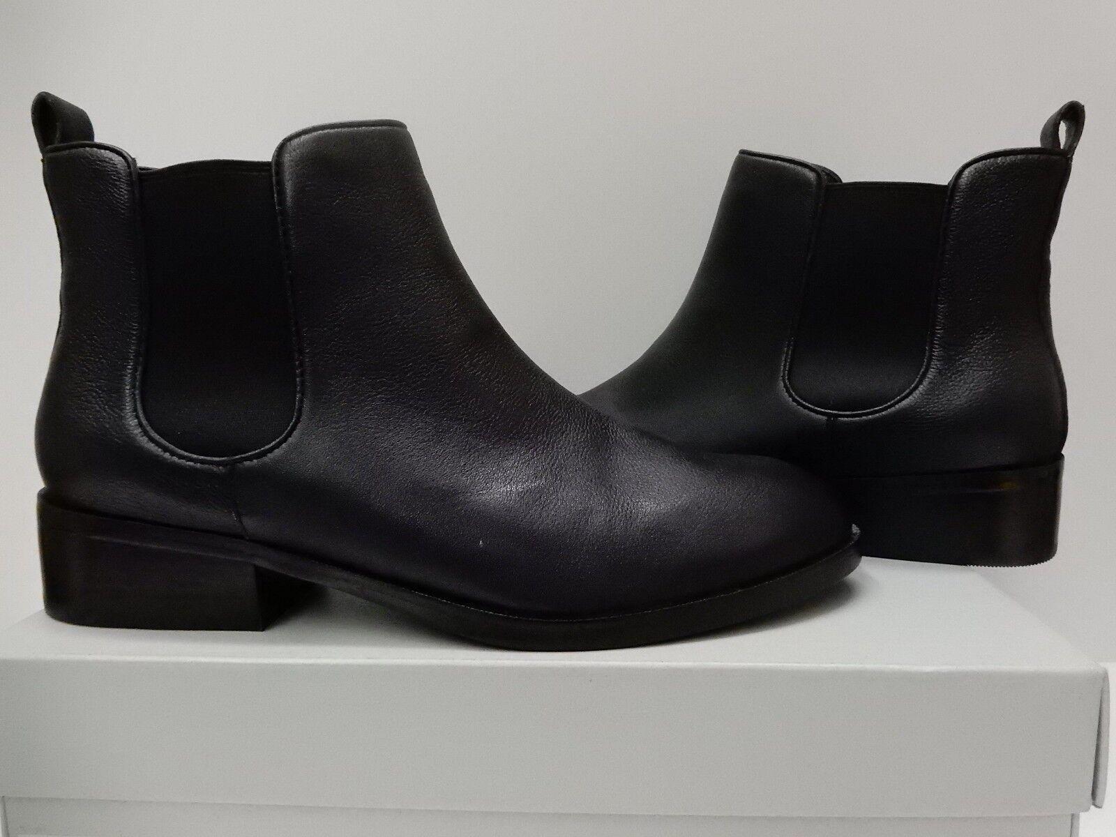 New Cole Haan Landsman Bootie Women's Black Leather Boots Shoes Sizes 7 - 10