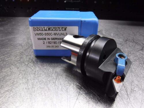 KM 50 Indexable Turning Head VM50-S50C-MVUNL3 LOC1848C Valenite VM