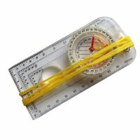 Luminous Compass With Scale Ruler Outdoor Sports Navigator Survival Handheld