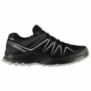 Détails sur Salomon Hommes XA bondcliff GTX 2 Trail Chaussures De Marche Randonnée Baskets Lacets afficher le titre d'origine