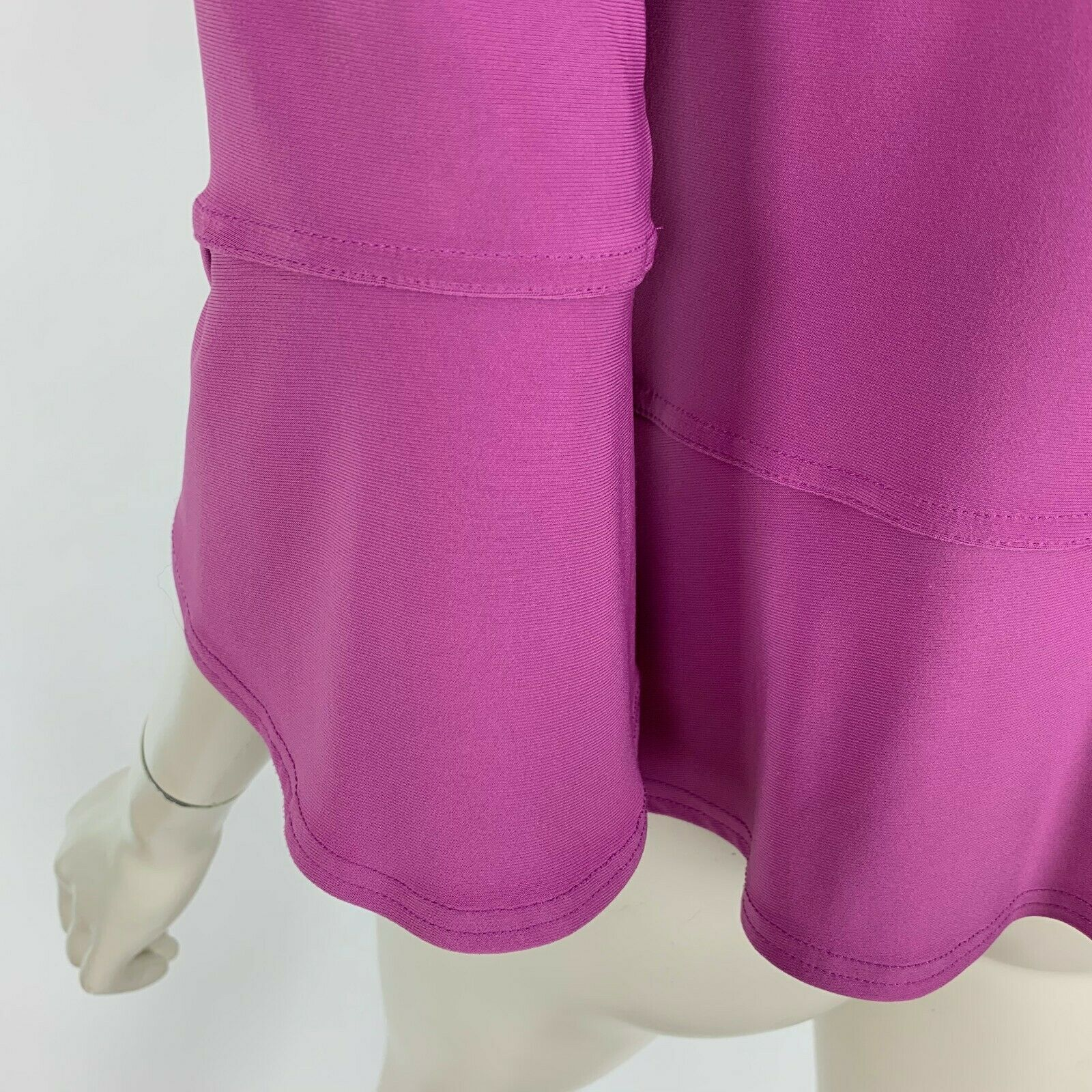 Sympli Canada Lilac Blouse Top 3/4 Sleeve Scoop N… - image 7