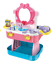 Childrens-Girls-Role-Play-Kitchen-amp-Dressing-Table-Beauty-Case-54-Piece-Set-4080 thumbnail 2