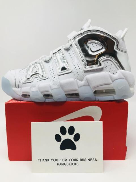 ff63c9c76292 ... closeout nike air more uptempo 96 chrome white 917593 100 womens 9bfbe  a8ee7