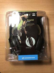 Brand-New-In-Box-Sennheiser-HD-202-Headband-Headphones-Black